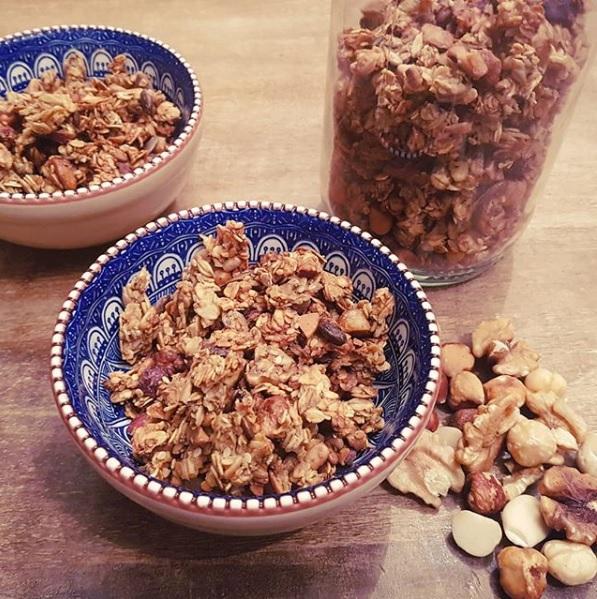 granola maison sans sucre