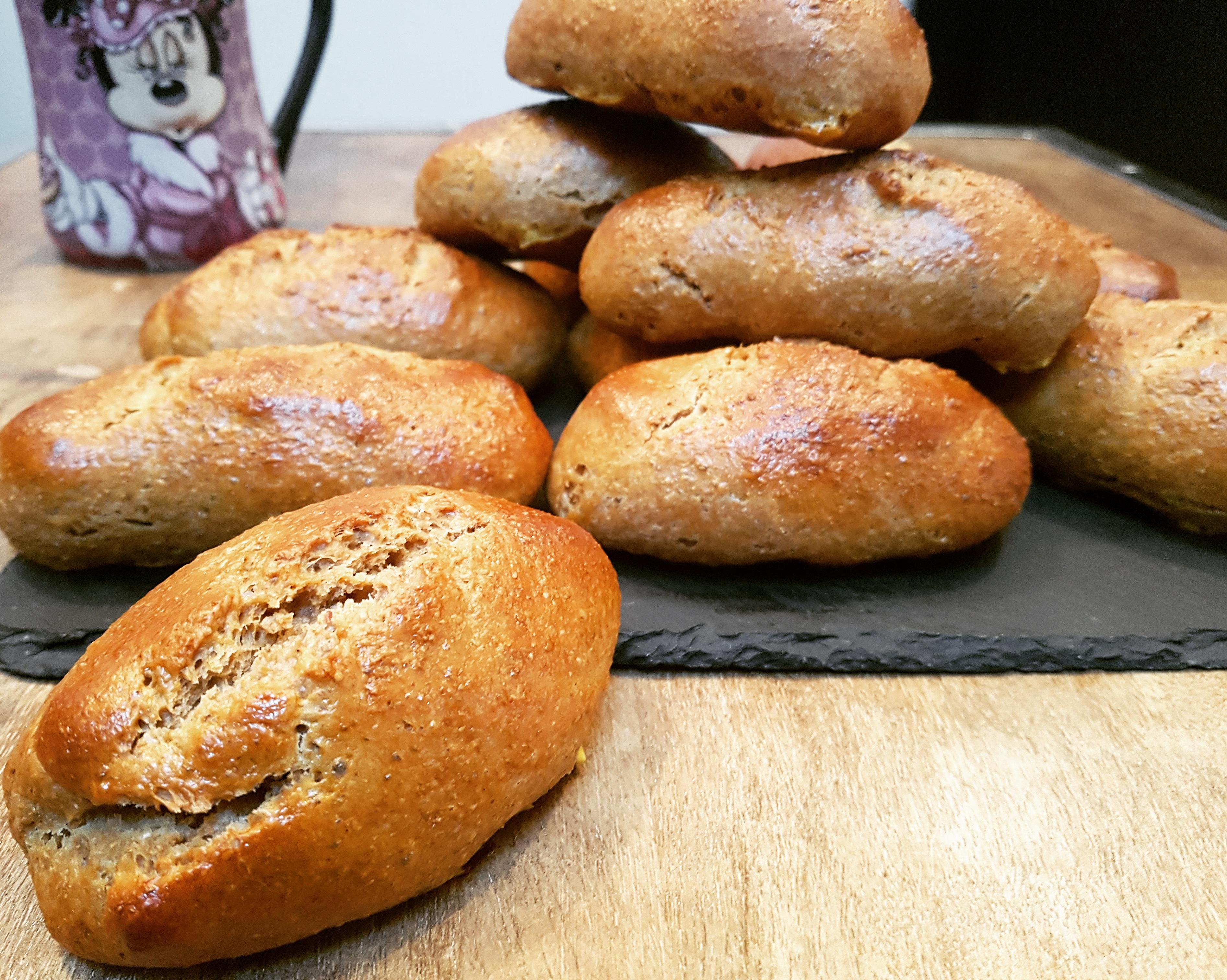 Petits pains au lait sans beurre