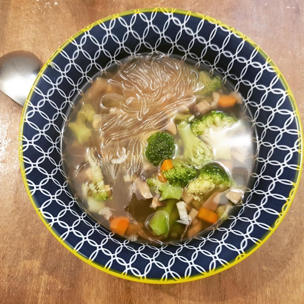 Soupe miso aux legumes