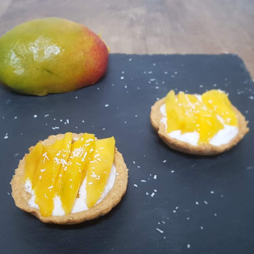 Tartelette Mangue coco