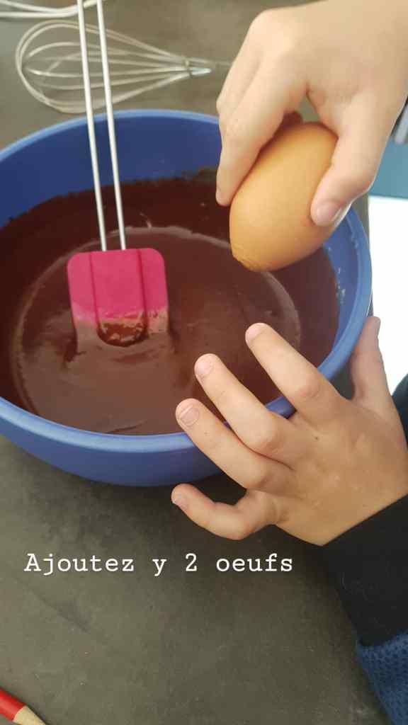 Moelleux au chocolat sans sucre ajouté