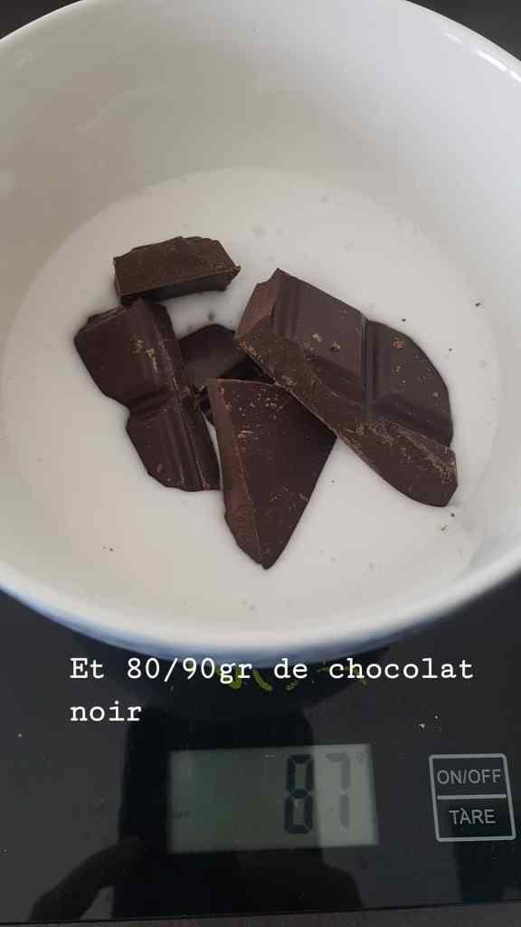 Moelleux chocolat coco sans lactose