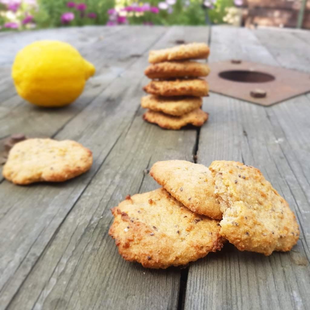 Cookie citron sans lactose