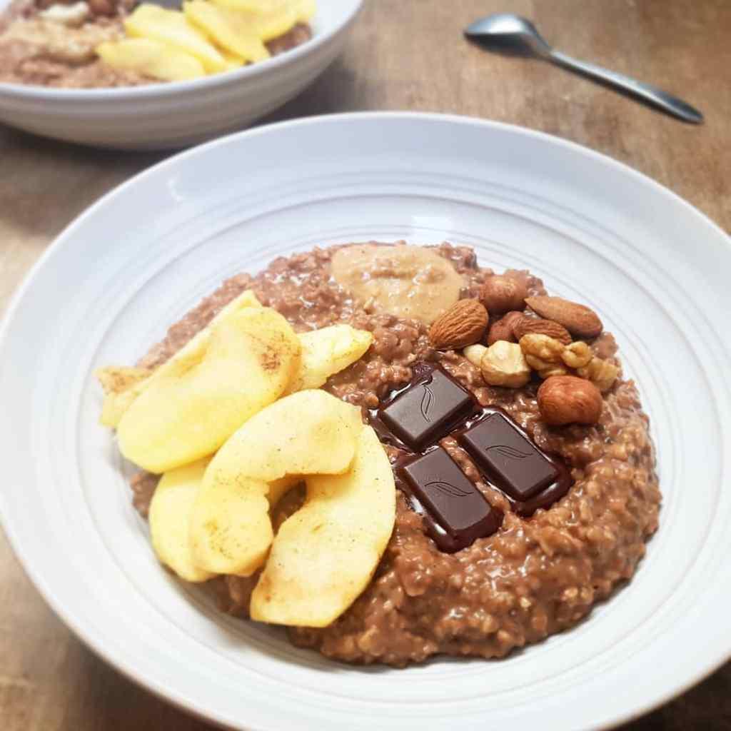 Recette de porridge sans sucre ajouté