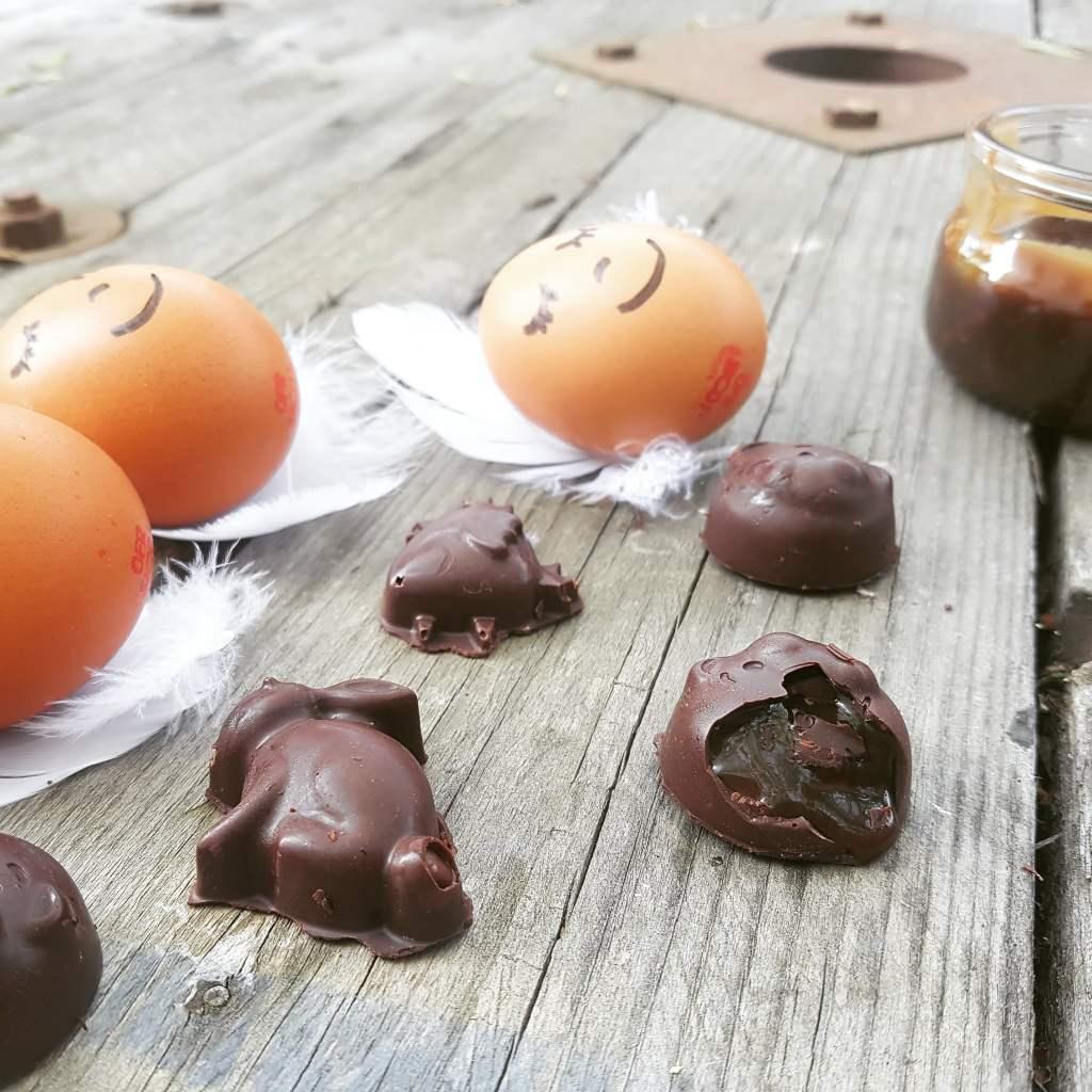 Chocolat caramel au beurre salé