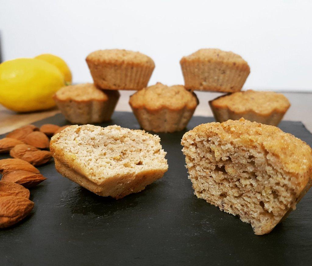 Muffin citron et amande