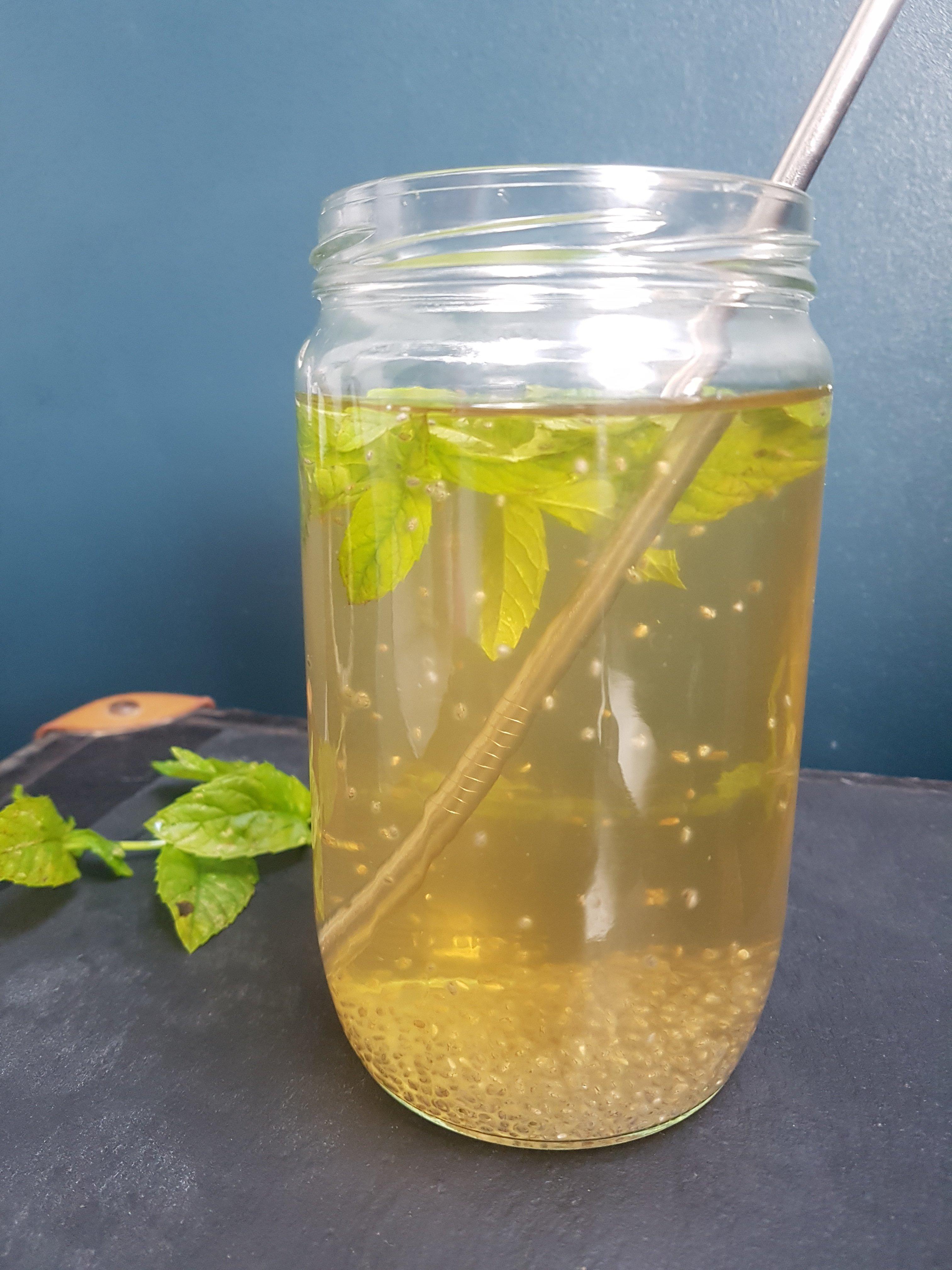 eau aromatisee naturellement
