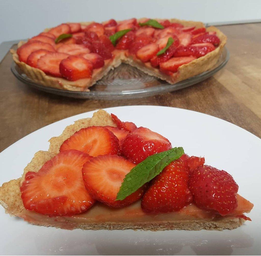 tarte fraise et citron