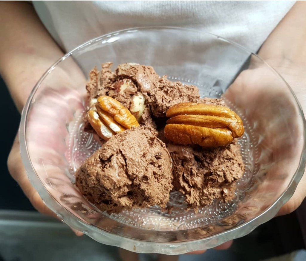 glace sans lactose au chocolat