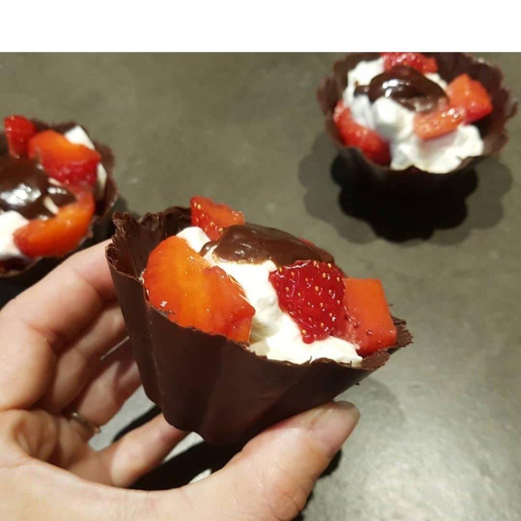 dessert chocolat sans sucre ajoute