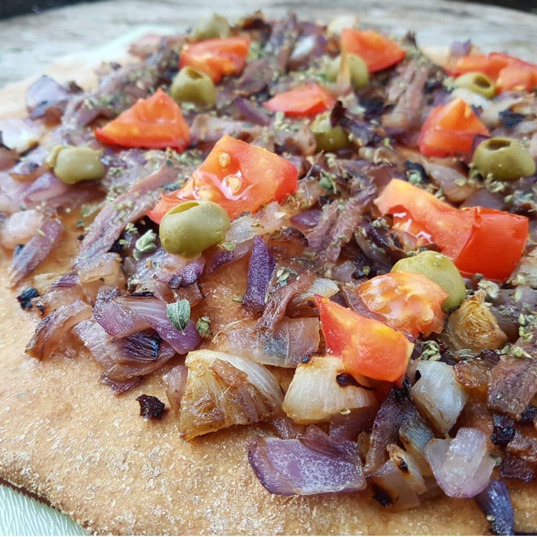 tarte oignons anchois