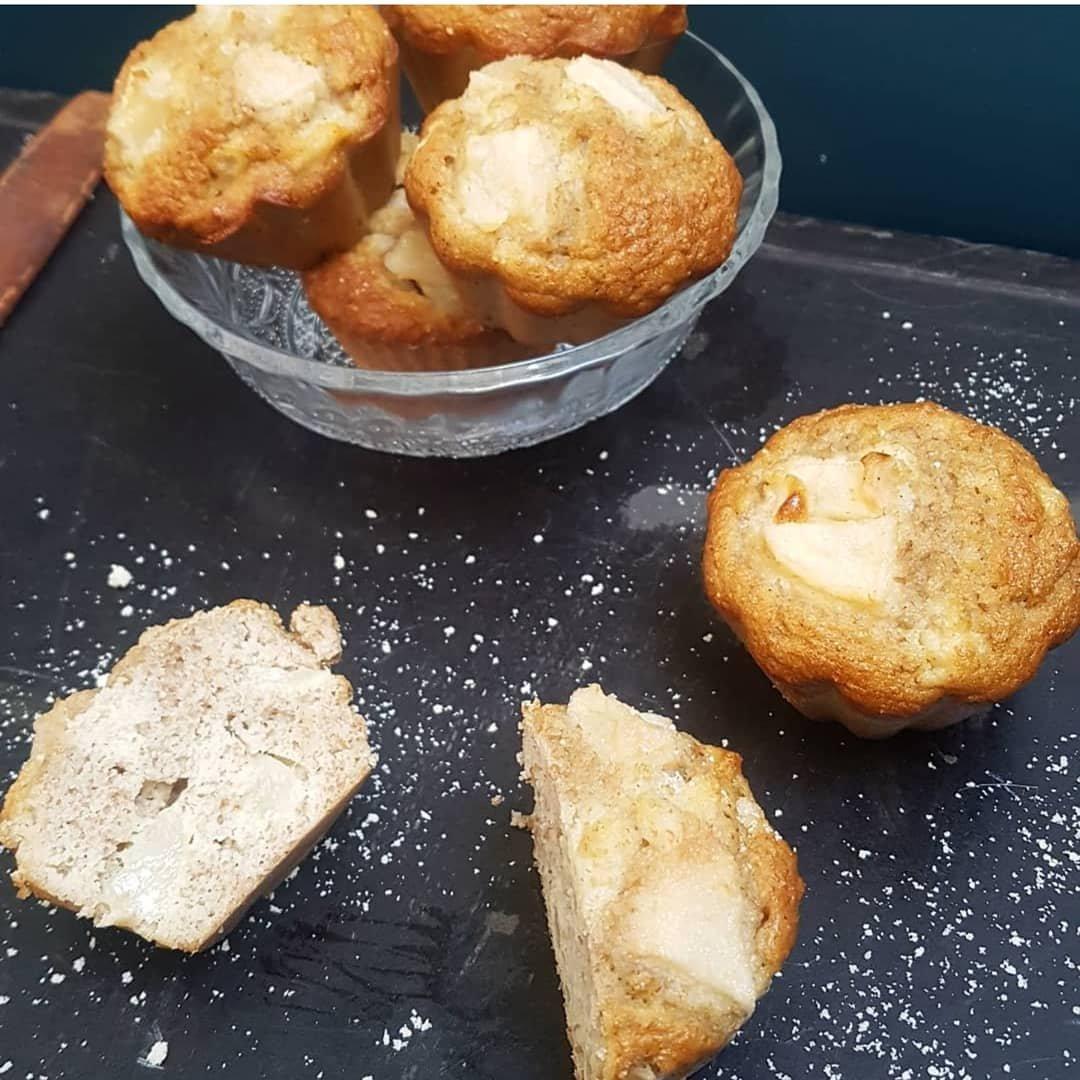 muffin poire sans sucre ajoute