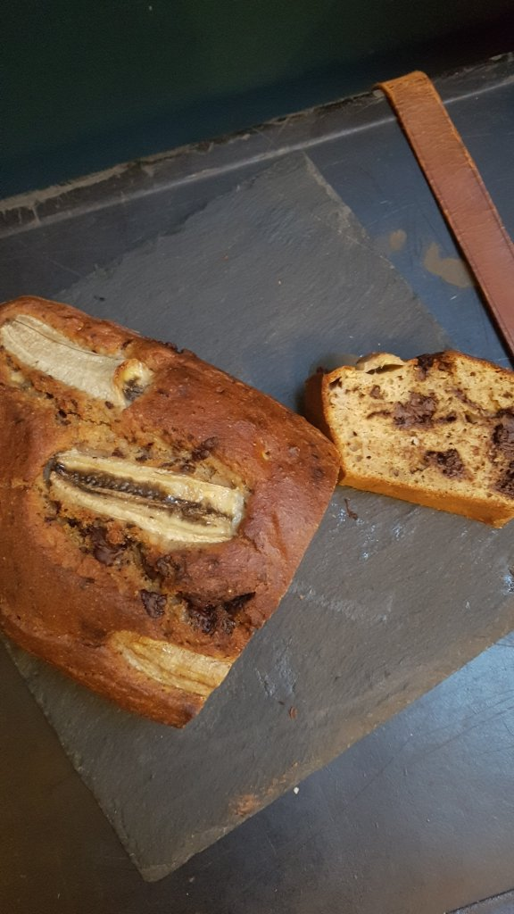 recette banana bread sans sucre