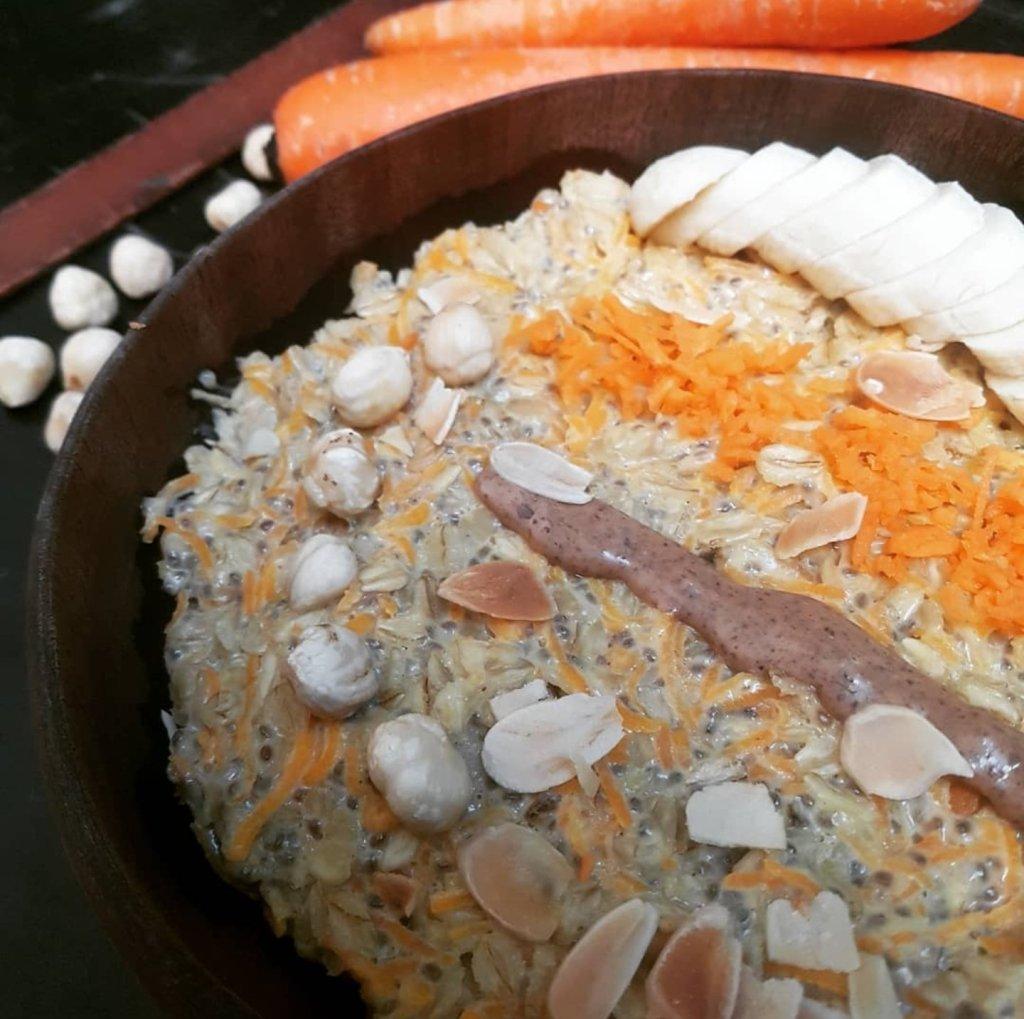 porridge carrot sans sucre