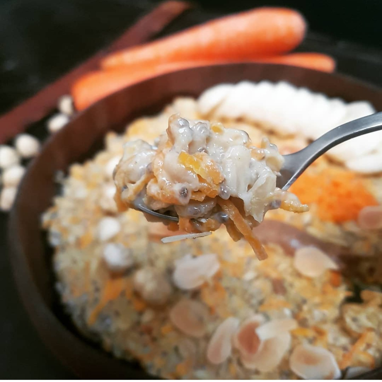 recette de porridge carrot