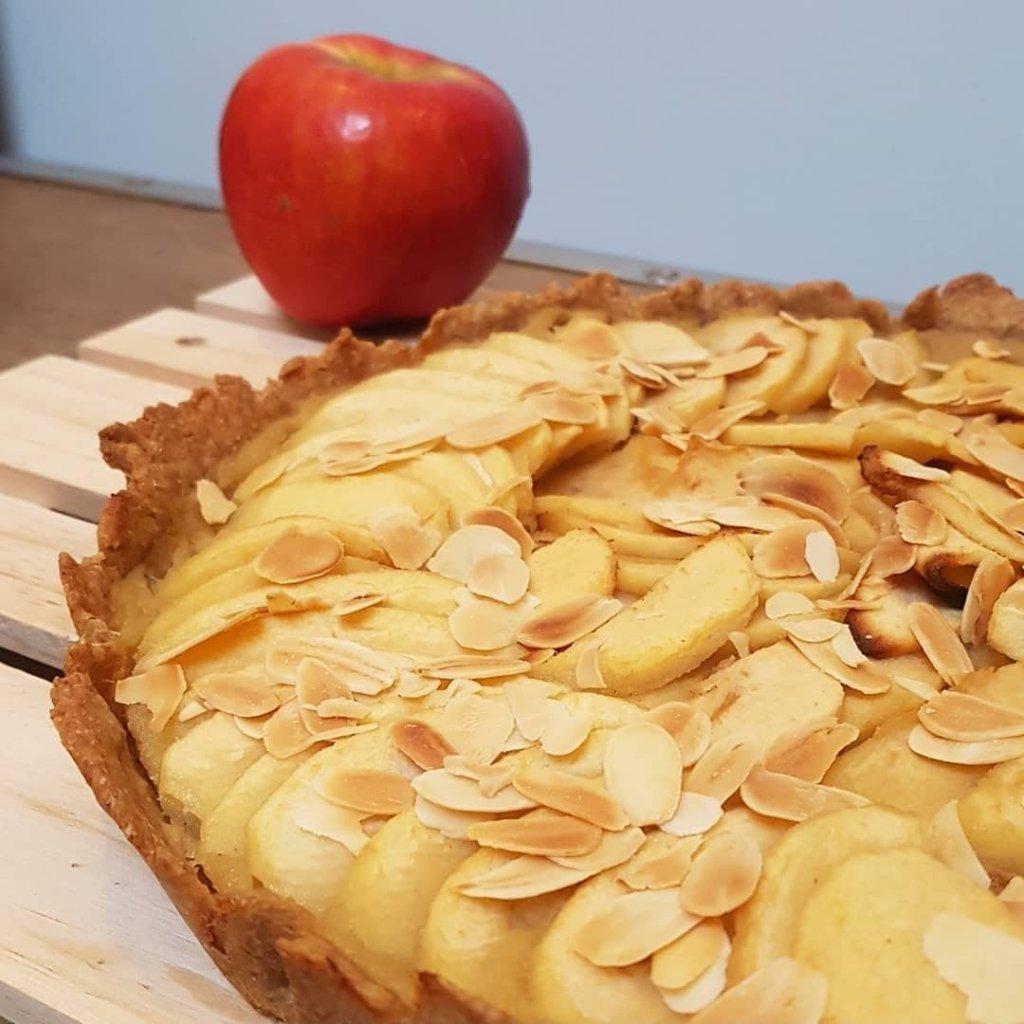 tarte aux pomme sans sucre