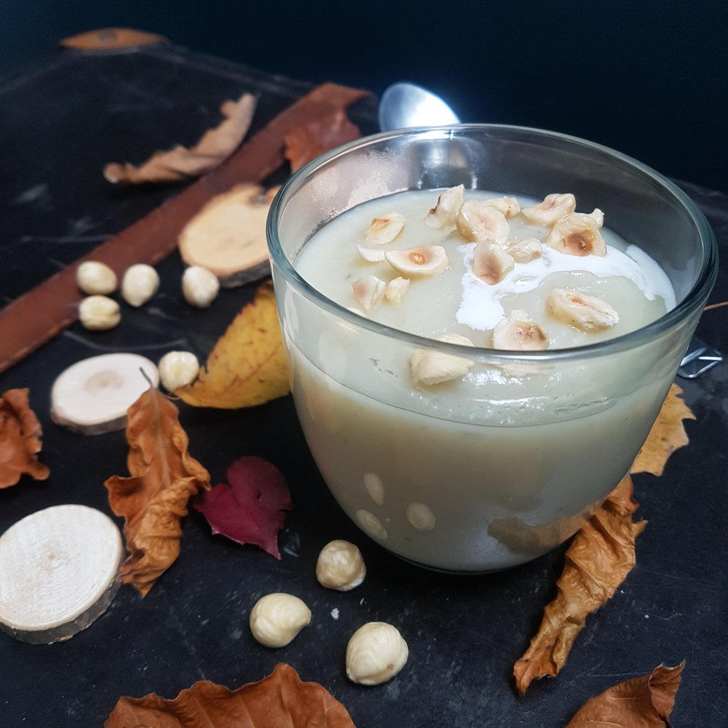 veloute topinambours noisettes