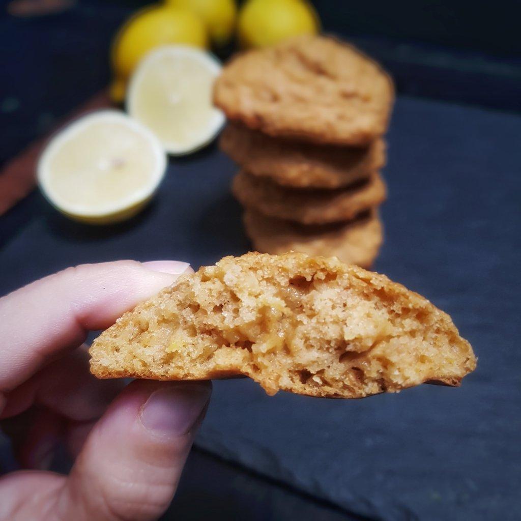 biscuit citron healthy