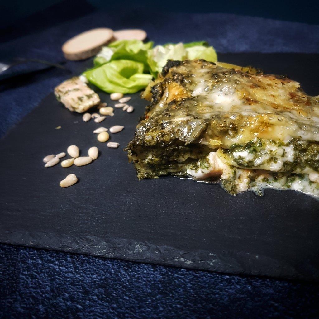 recette de lasagne epinard et saumon