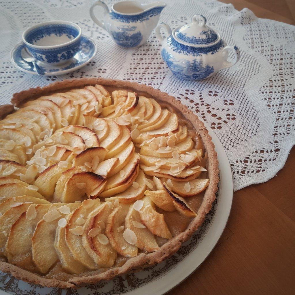 tarte aux pommes sans sucre