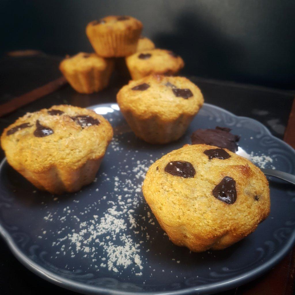 recette de muffins chocolat sans sucre