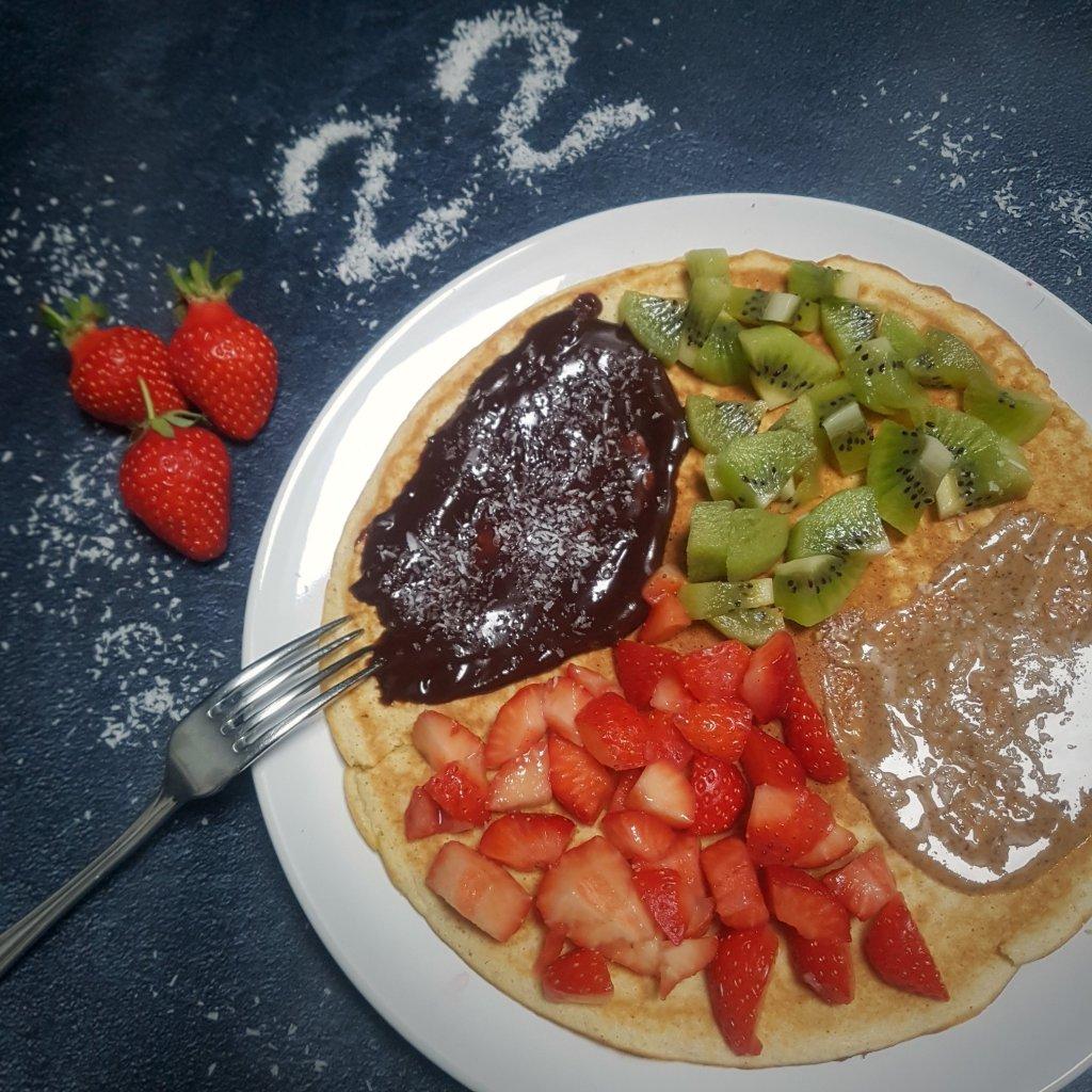 maxi pancake farine de coco