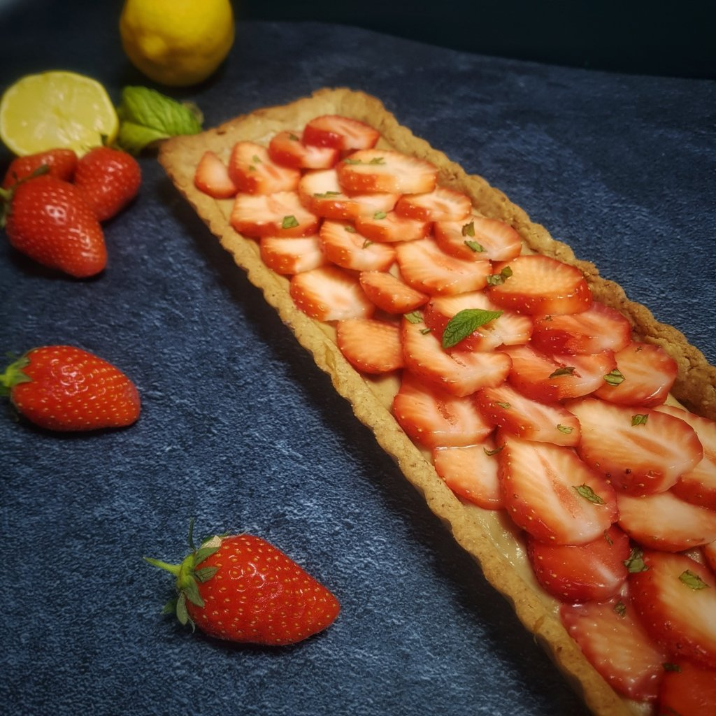 tarte aux fraises igbas