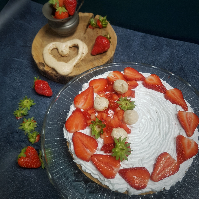 fraisier sans lactose